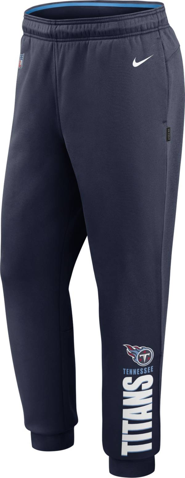 Nike Men's Tennessee Titans Sideline Therma-FIT Performance Navy Pants product image