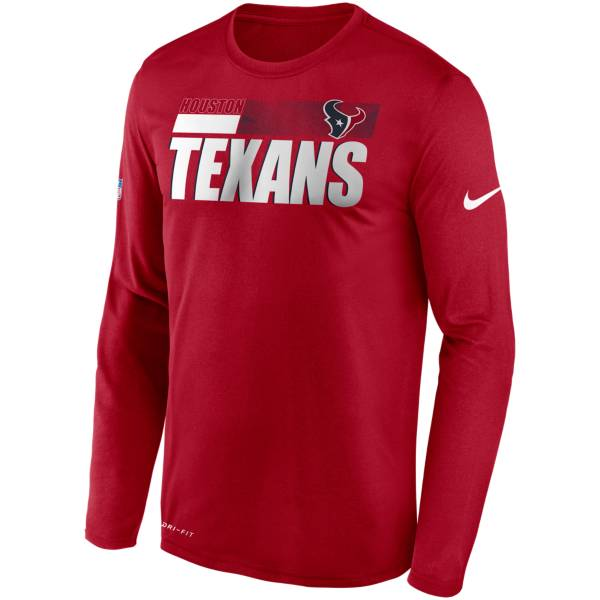 Nike Men's Houston Texans Sideline Long Sleeve T-Shirt product image
