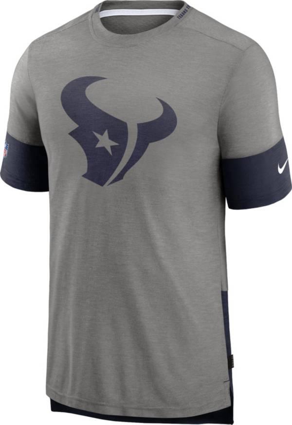 Nike Men's Houston Texans Grey Sideline Player T-Shirt product image