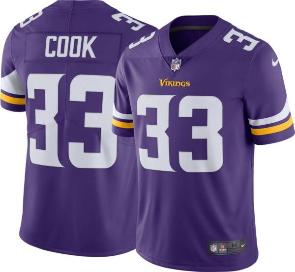 Nike Men's Minnesota Vikings Dalvin Cook #33 Home Purple Limited Jersey product image