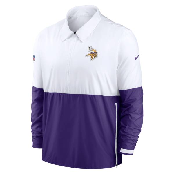 Nike Men's Minnesota Vikings Sideline Dri-Fit Coach Jacket product image