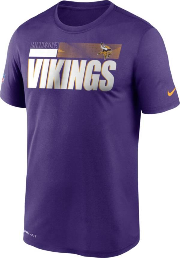 Nike Men's Minnesota Vikings Legend Performance Purple T-Shirt product image