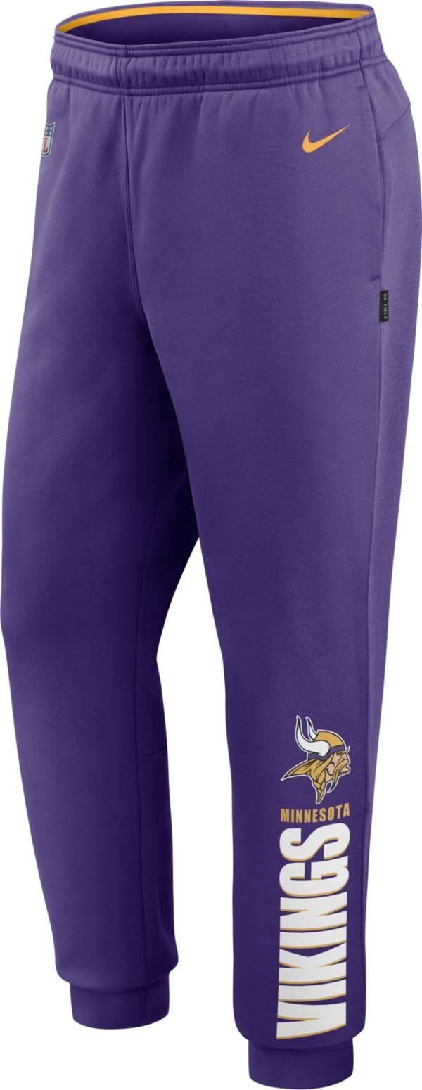 Nike Men's Minnesota Vikings Sideline Therma-FIT Performance Purple Pants product image