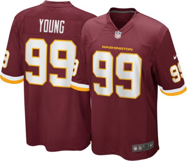 Nike Men's Washington Football Team Chase Young #99 Home Red Game Jersey product image