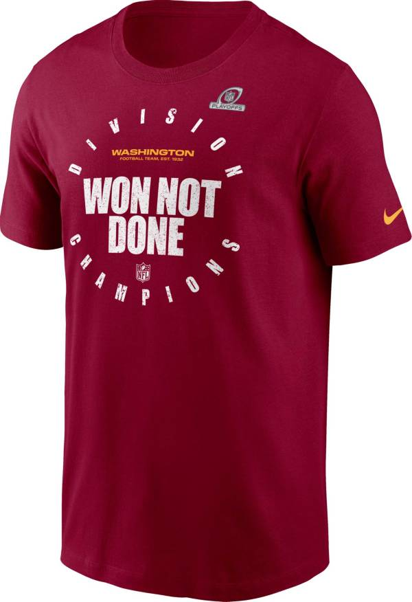 Nike Men's Washington Football Team NFC East Division Champions Red T-Shirt product image