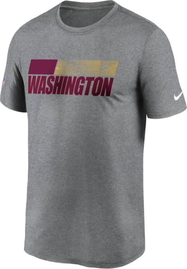 Nike Men's Washington Football Team Dark Grey Legend Sideline T-Shirt product image