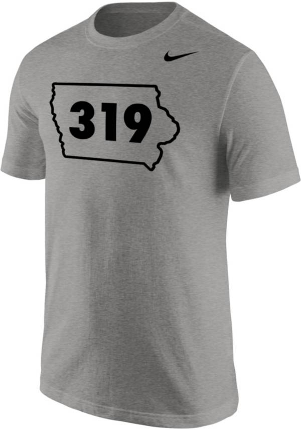 Nike Men's 319 Area Code Grey T-Shirt product image