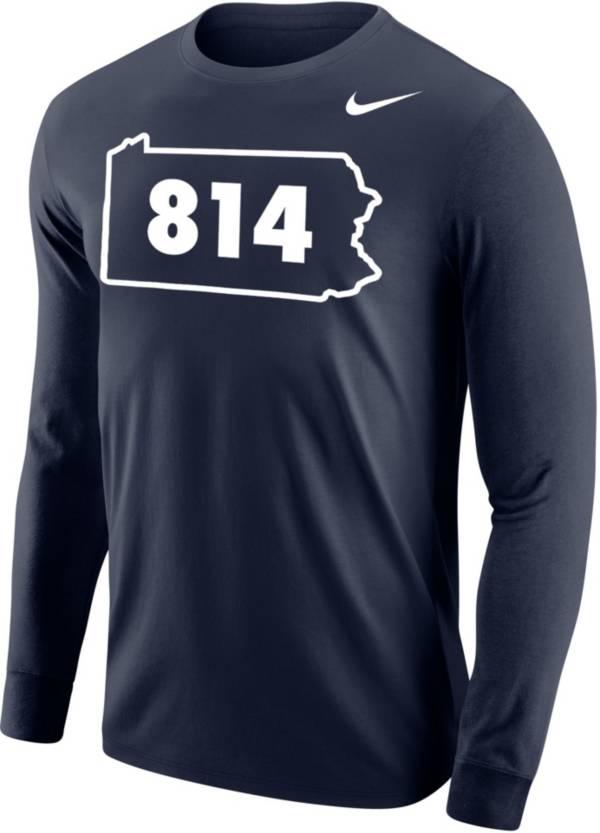 Nike Men's 814 Area Code Navy Long Sleeve T-Shirt product image