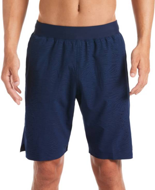 Nike Men's Geo Emboss Blade Volley Swim Trunks product image