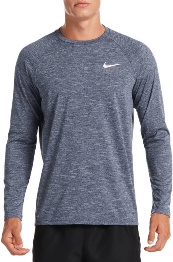 Nike Men's Heathered Long Sleeve Rash Guard product image