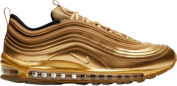 Nike Men's Air Max 97 Gold Shoes product image