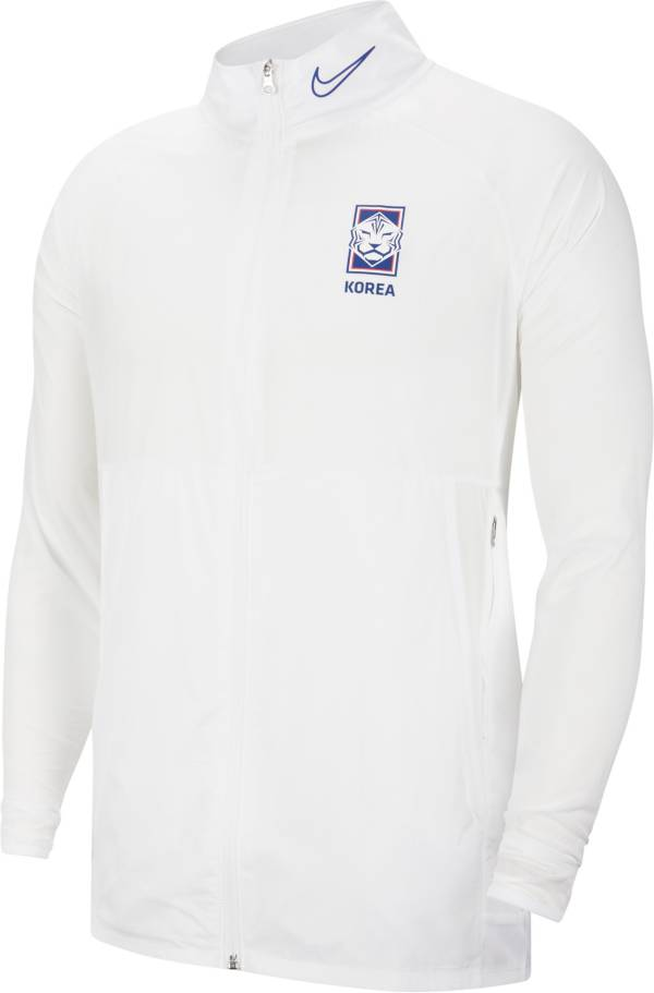 Nike Men's South Korea White Full-Zip Jacket product image