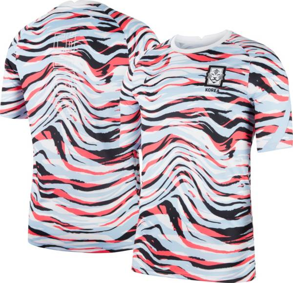 Nike Men's South Korea '20 Prematch White Performance Shirt product image