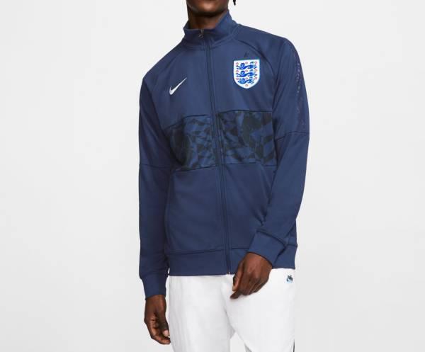 Nike Men's England Anthem Blue Full-Zip Jacket product image