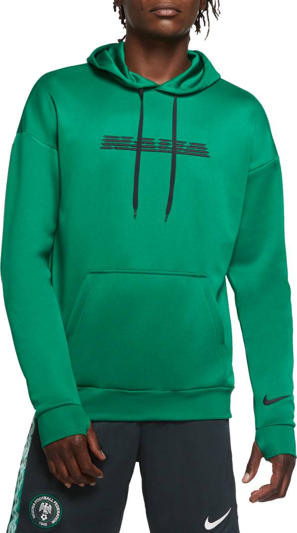 Nike Men's Nigeria Naija Green Pullover Hoodie product image