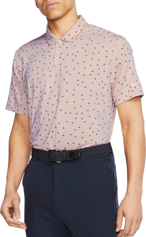 Nike Men's Dri-FIT Vapor Rose Print Golf Polo product image