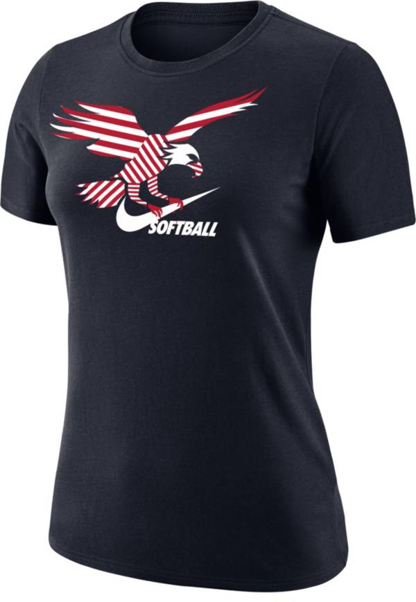 Nike Women's American Eagle Swoosh Softball T-Shirt product image