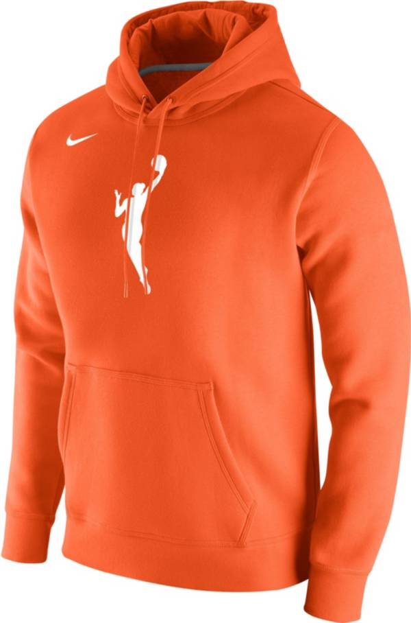Nike Adult WNBA Primary Logo Orange Pullover Hoodie product image