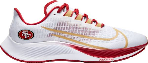 Nike Air Zoom Pegasus 37 San Francisco 49ers Running Shoes product image