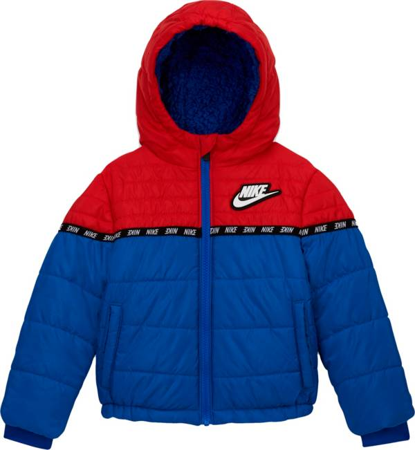 Nike Little Boys' Color Block Taping Full-Zip Puffer Jacket product image