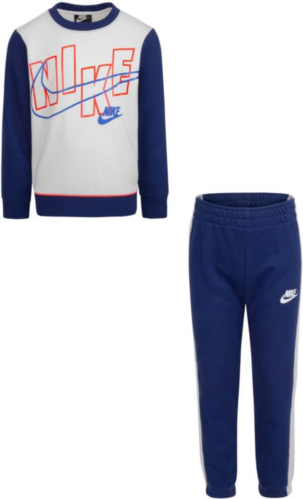 Nike Little Boys' French Terry Crew Set product image