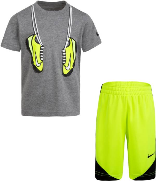 Nike Little Boys' Footwear Short Sleeve T-Shirt product image