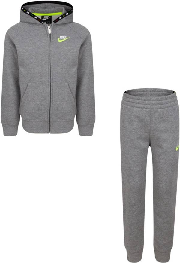 Nike Little Boys' Micro Evolution Full-Zip Hoodie and Jogger Pants Set product image