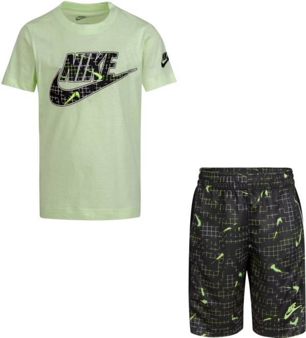Nike Little Boys' Glow in the Dark T-Shirt and Shorts Set product image