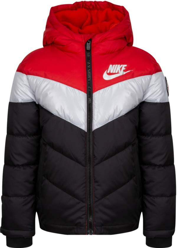 Nike Little Boys' Heavy Color Block Full-Zip Puffer Jacket product image