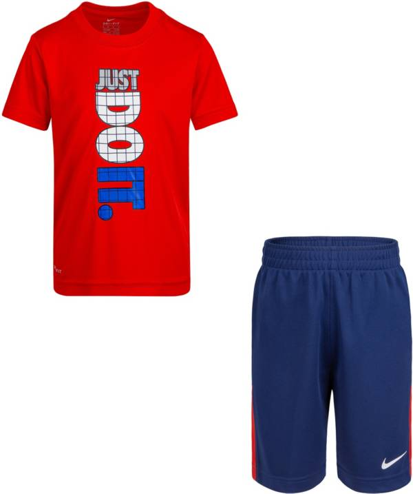 Nike Little Boys' Just Do It T-Shirt and Shorts Set product image