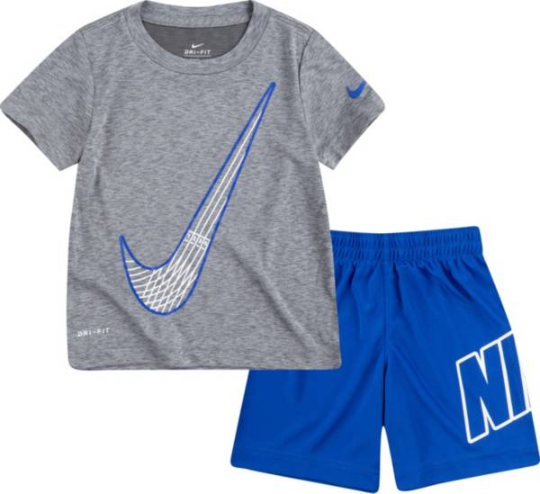 Nike Little Boys' Just Do It Jersey T-Shirt and Shorts Set product image