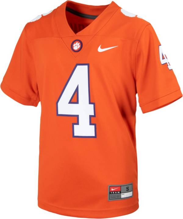 Nike Youth Clemson Tigers Orange Replica Football Jersey product image