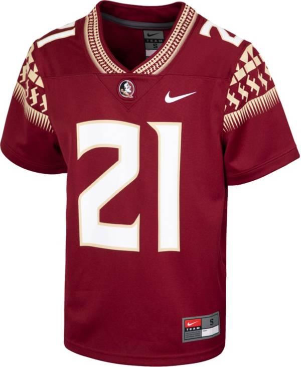 Nike Youth Florida State Seminoles Garnet Replica Football Jersey product image