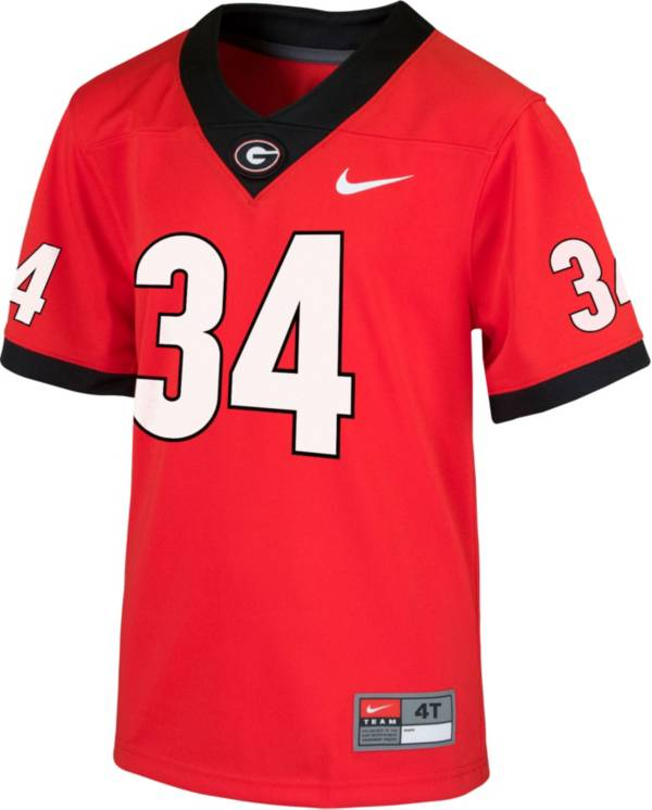 Nike Toddler Georgia Bulldogs Red Replica Football Jersey product image