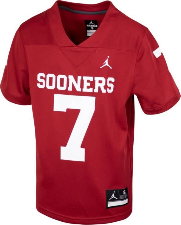Nike Toddler Oklahoma Sooners Crimson Replica Football Jersey product image