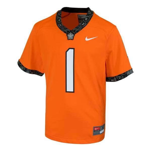 Nike Kids' Oklahoma State Cowboys Orange Replica Football Jersey product image
