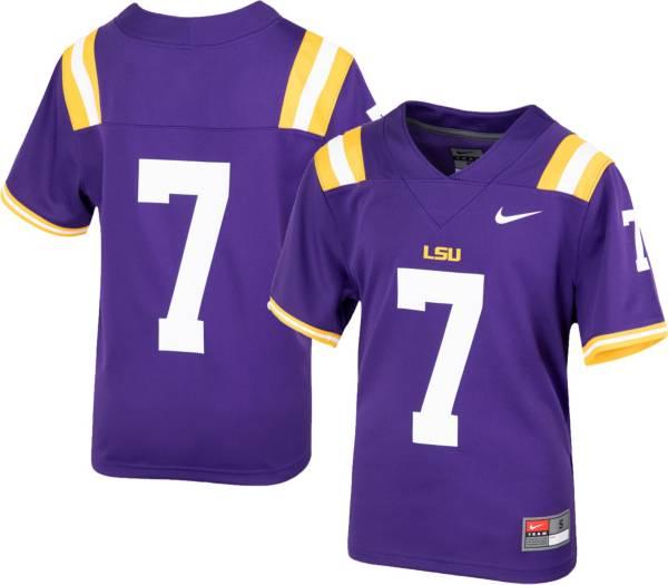 Nike Youth LSU Tigers Purple Replica Football Jersey product image