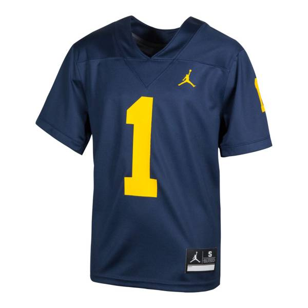 Nike Toddler Michigan Wolverines Maize Replica Football Jersey product image