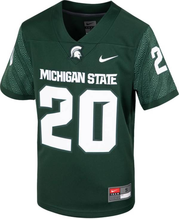 Nike Youth Michigan State Spartans Green Replica Football Jersey product image