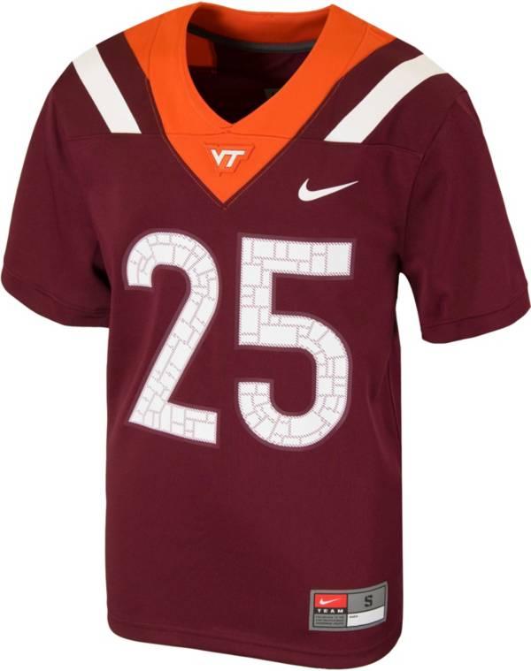 Nike Youth Virginia Tech Hokies Maroon Replica Football Jersey product image