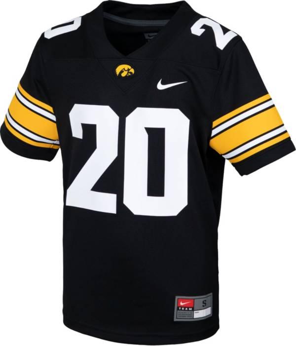 Nike Youth Iowa Hawkeyes Black Replica Football Jersey product image