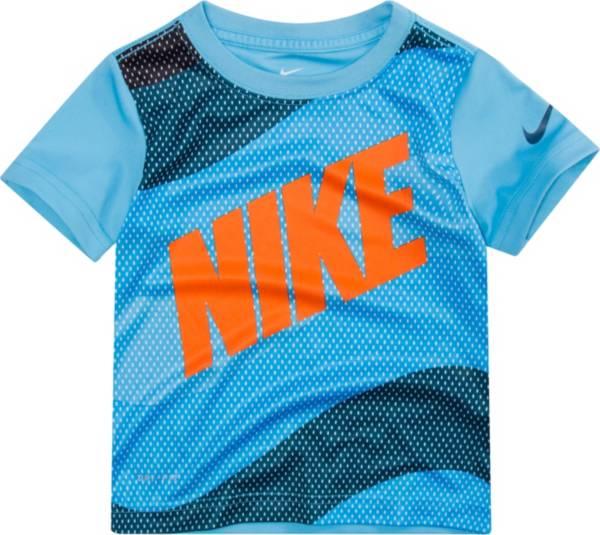 Nike Boys' Wavey Mesh Block Dri-FIT Short Sleeve T-Shirt product image