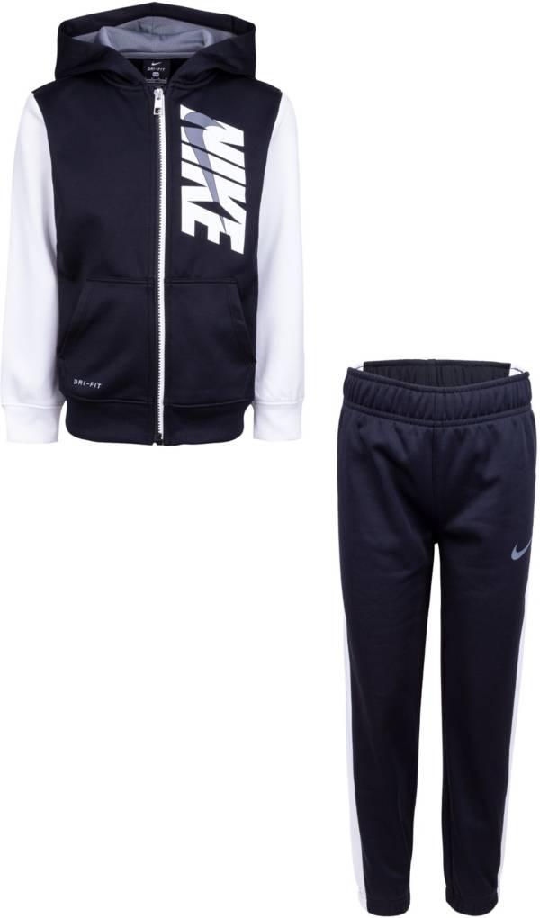 Nike Toddler Color Block Full Zip Hoodie and Pants Set product image