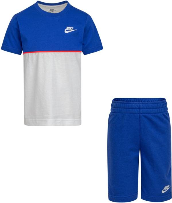 Nike Little Boys' Set Me French Terry T-Shirt and Shorts Set product image