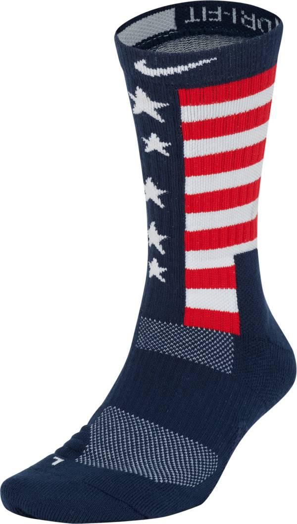 Nike Team USA Elite Energy Basketball Crew Socks product image