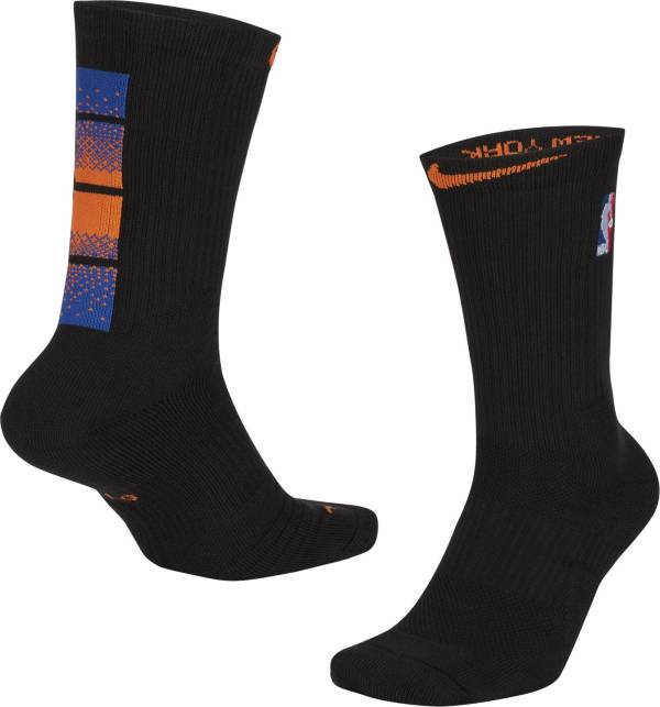 Nike Men's 2020-21 City Edition New York Knicks Elite Crew Socks product image