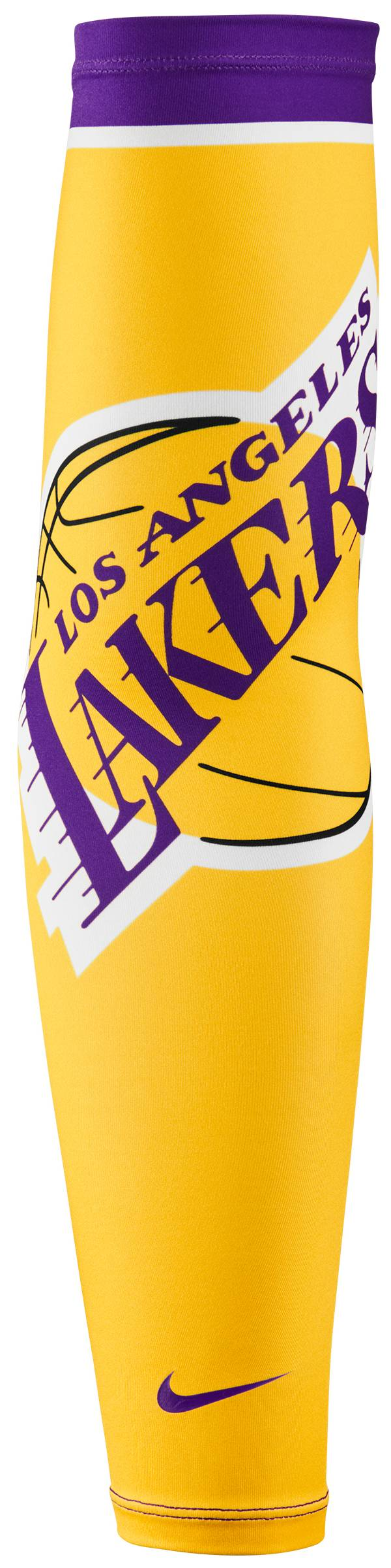 Nike Youth Los Angeles Lakers Shooter Arm Sleeve product image