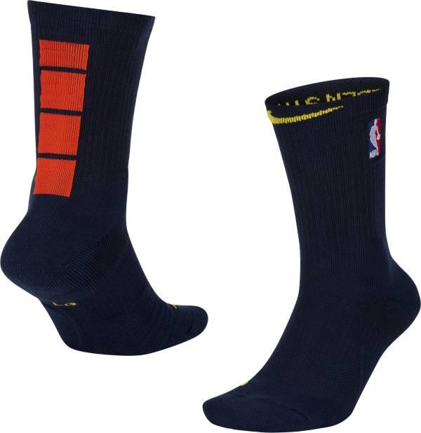 Nike Men's 2020-21 City Edition Golden State Warriors Elite Crew Socks product image