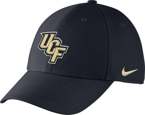 Nike Men's UCF Knights Swooshflex Black Hat product image