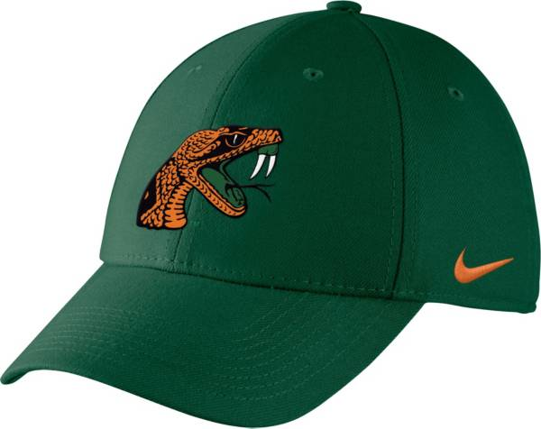 Nike Men's Florida A&M Green Adjustable Hat product image